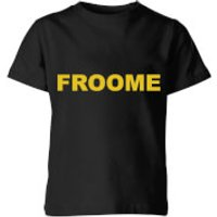 Summit Finish Froome - Rider Name Kids' T-Shirt - Black - 9-10 Years - Black