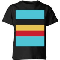 Summit Finish Belgium Flag Kids' T-Shirt - Black - 3-4 Years - Black