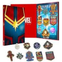 Captain Marvel Zavvi Exklusives Limited Pin Set