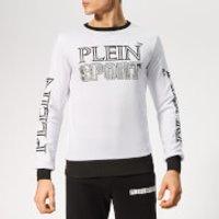 Plein Sport Men's Statement Sweatshirt - White/Silver - S - White/Silver