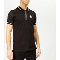 Plein Sport Men's Statement Polo-Shirt - Black/White - XL - Black/White