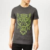Plein Sport Men's Tiger T-Shirt - Grey - L - Grey