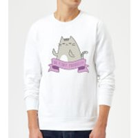 Go Fluff Yourself! Sweatshirt - White - XL - White