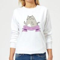 Go Fluff Yourself! Women's Sweatshirt - White - L - White