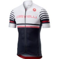 Castelli Free AR 4.1 Jersey - M - White/Light Black