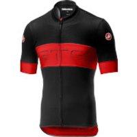 Castelli Prologo VI Jersey - S - Black/Red/Black