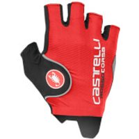 Castelli Rosso Corsa Pro Gloves - Black - XS - Red