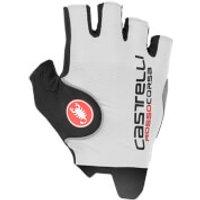 Castelli Rosso Corsa Pro Gloves - Black - XS - White