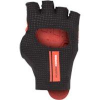 Castelli Cabrio Gloves - XS - Black/Red