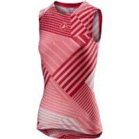 Castelli Women's Pro Mesh Baselayer - XS - Salmon/Pink