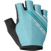 Castelli Women's Dolcissima 2 Gloves - L - Aruba Blue/Turquoise Green