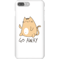 Go Away Phone Case for iPhone and Android - iPhone 7 Plus - Snap Case - Gloss