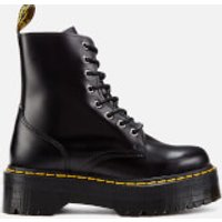 Dr. Martens Women's Jadon Polished Smooth Leather 8-Eye Boots - Black - UK 6