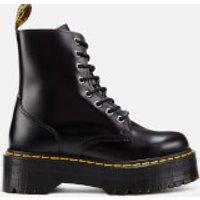 Dr. Martens Women's Jadon Polished Smooth Leather 8-Eye Boots - Black - UK 3