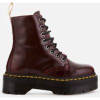 Dr. Martens Women's Jadon II Vegan 8-Eye Boots - Cherry Red - UK 7 - Red