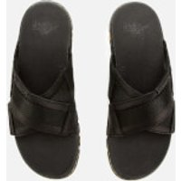 Dr. Martens Men's Athens Carpathian Leather Sandals - Black - UK 9 - Black