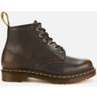 Dr. Martens Men's 101 Vintage Leather 6-Eye Boots - Butterscotch - UK 7 - Brown