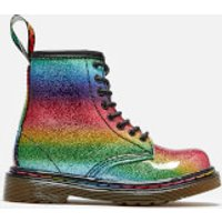 Dr. Martens Toddler's 1460 Ombre Glitter Patent 8-Eye Boots - Rainbow - UK 6 Toddler - Multi