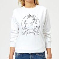 F*** Younicorn Women's Sweatshirt - White - XXL - White