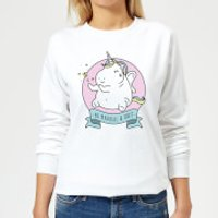Be Magical & S*** Women's Sweatshirt - White - 4XL - White