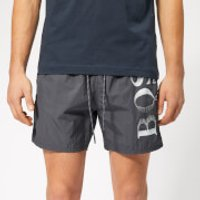 BOSS Men's Octopus Swim Shorts - Charcoal - M - Grey