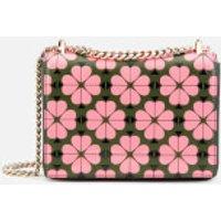 Kate Spade New York Women's Amelia Spade Flower Small Shoulder Bag - Bright Pink Multi