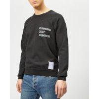 Satisfy Men's Cult Moth Eaten Sweatshirt - Wash Black - M - Black