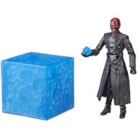 Hasbro Marvel Legends Series Captain America Red Skull Figure and Electronic Tesseract SDCC