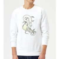 Barlena Forbidden Fruit Sweatshirt - White - M - White