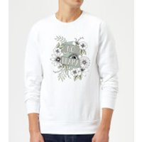 Barlena No Drama Sweatshirt - White - M - White
