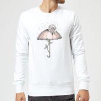 Barlena Breakthrough Sweatshirt - White - L - White