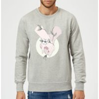 Barlena Together Sweatshirt - Grey - XXL - Grey