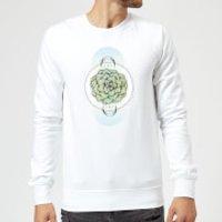 Barlena Sempervivum Sweatshirt - White - S - White