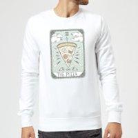Barlena The Pizza Sweatshirt - White - 4XL - White