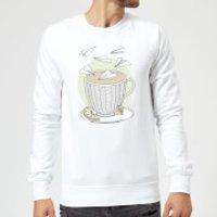 Barlena Teatime Sweatshirt - White - XXL - White