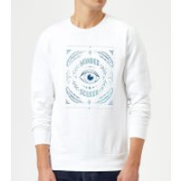 Barlena Wonder Seeker Sweatshirt - White - S - White
