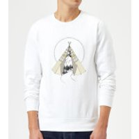 Barlena Into The Wild Sweatshirt - White - XL - White