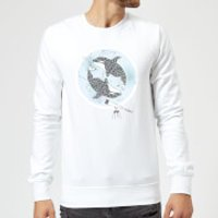Barlena Orcalaxy Sweatshirt - White - XL - White