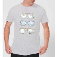 Barlena Good Times Men's T-Shirt - Grey - 4XL - Grey