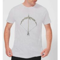 Barlena Bow and Arrow Men's T-Shirt - Grey - XXL - Grey