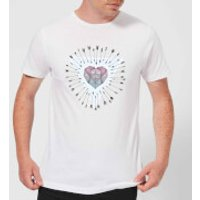 Barlena Young & Unafraid Men's T-Shirt - White - XL - White