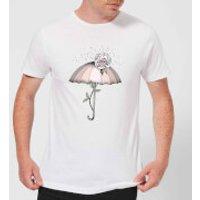 Barlena Breakthrough Men's T-Shirt - White - 3XL - White