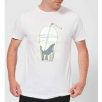 Barlena Thirsty Men's T-Shirt - White - 3XL - White