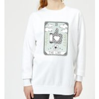 Barlena The Like Women's Sweatshirt - White - S - White