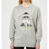Barlena Growth Women's Sweatshirt - Grey - XXL - Grey