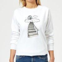 Barlena To The Moon and Back Women's Sweatshirt - White - XL - White