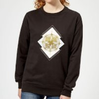 Barlena Compass Women's Sweatshirt - Black - S - Black
