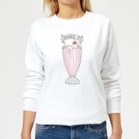 Barlena Shake It Women's Sweatshirt - White - XS - White