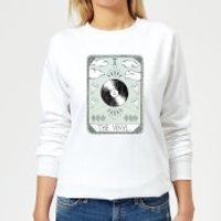 Barlena The Vinyl Women's Sweatshirt - White - 4XL - White
