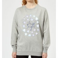 Barlena Shine Bright Women's Sweatshirt - Grey - XS - Grey